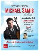 A guest recital will be held Oct. 20.