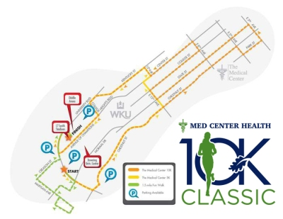 The Med Center Health 10K Classic will be held Oct. 15.