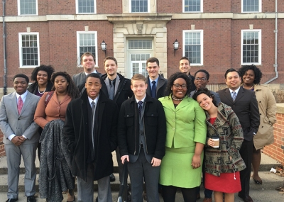"Members of the WKU forensics team swept the Second Annual Urbana-Champaign/Springfield ""Illini Stars Swing"" tournament."