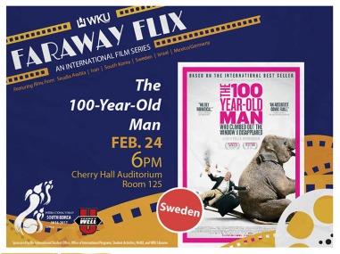 The Faraway Flix series continues Feb. 24.