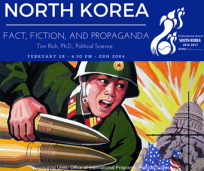 Presentation on North Korea will be held Feb. 28.
