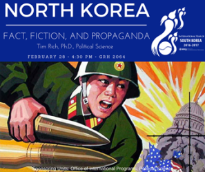 Presentation on North Korea will be held Feb. 28.