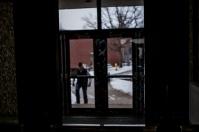 Campus scenes on Feb. 9.