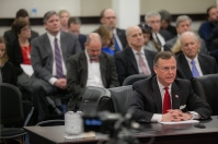 WKU President Gary Ransdell testified before the House Budget Review Subcommittee on Postsecondary Education on Feb. 25 in Frankfort.