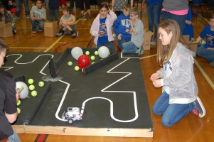 WKU Engineering hosted the 16th annual Kentucky Bluegrass LEGO Robotics Competition on Feb. 27 at Drakes Creek Middle School.
