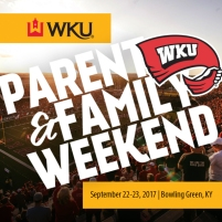 Parent & Family Weekend will be held Sept. 22-23.