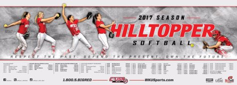 2017 WKU Softball schedule