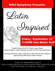 The Symphony at WKU will perform on Sept. 22.