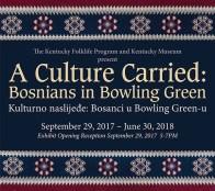"""""""A Culture Carried: Bosnians in Bowling Green"""" opens Sept. 29 at the Kentucky Museum."""
