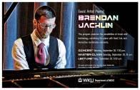 Brendan Jacklin will perform Sept. 30.