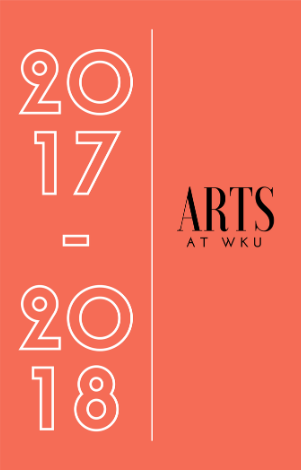 The 2017-2018 Arts at WKU calendar from Potter College of Arts & Letters is available at http://www.wku.edu/pcal/documents/17-18-arts-calendar-v2.pdf