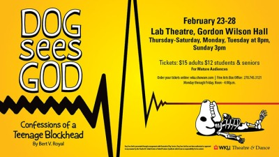 """Dog Sees God"" will be presented Feb. 23-28."
