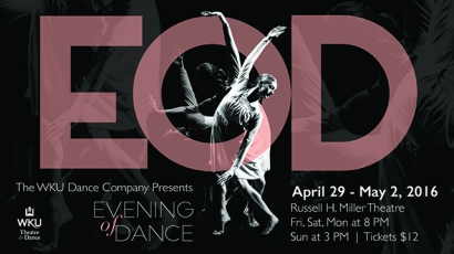 Evening of Dance will be presented April 29-May 2.