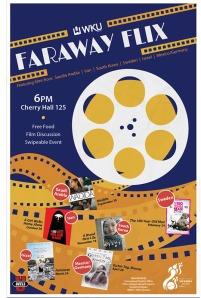2016-17 Faraway Flix Film Series begins Sept. 30.