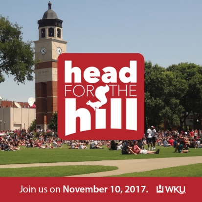 WKU Admissions will host Head for The Hill on Nov. 10.