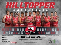Hilltopper Basketball 2016-17 schedule poster