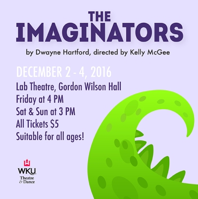 "Children's Theatre Series concludes with ""The Imaginators"" Dec. 2-4."