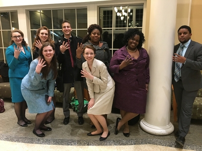 WKU was crowned team sweepstakes champion at the Ohio University Speech Tournament.