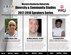 Diversity & Community Studies 2017-2018 Speakers Series