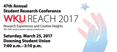 2017 Student Research Conference will be held March 25.