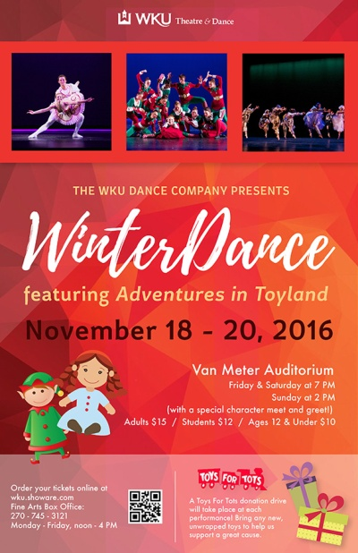 WinterDance will be held Nov. 18-20.