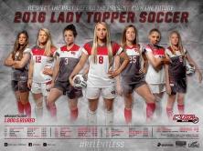 WKU Soccer 2016 schedule poster