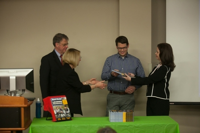 The School of Teacher Education hosted a book launch event on March 1.