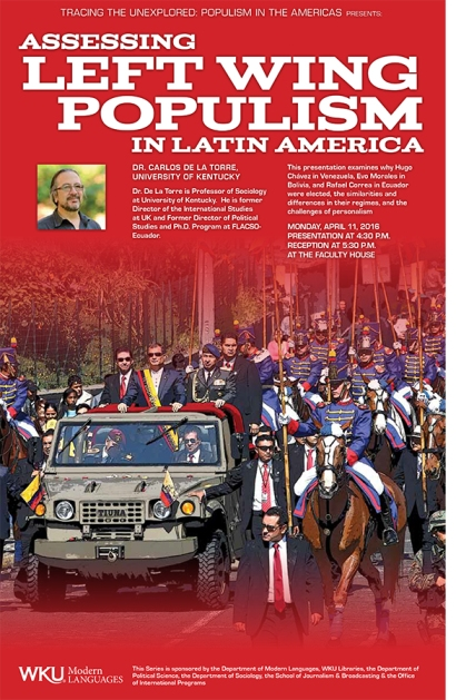 Populism in Latin American Poster