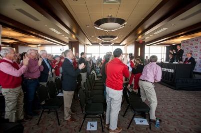 WKU introduced new Hilltopper basketball coach Rick Stansbury on March 28.