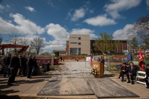 WKU President Gary Ransdell said rebuilding the science campus has been a priority since 1997. (WKU photo by Clinton Lewis)