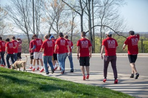 As part of Sexual Assault Awareness Month, Walk A Mile in Her Shoes was held April 5.