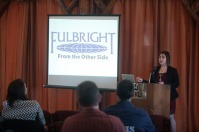Fulbright From the Other Side was held April 5 as part of Fulbright Week activities.