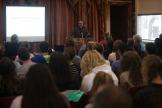 Dr. Carlos De La Torre presented a lecture on April 11.