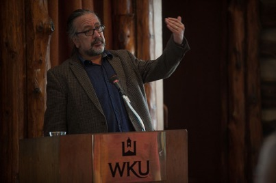 Dr. Carlos De La Torre presented a lecture on April 11.