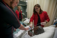 WKU nursing students