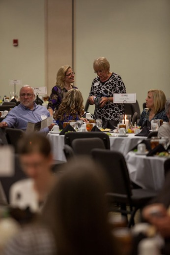 College of Health and Human Services held its awards ceremony on April 16.