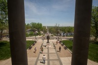 Spring on the WKU campus
