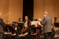 Larry Long was inducted into the Department of Music Wall of Fame on April 22.