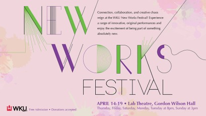 New Works Festival ad Digital Sign