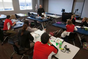 The first cohort of WKU's Doctor of Physical Therapy program began classes in 2013. (WKU photo by Clinton Lewis)