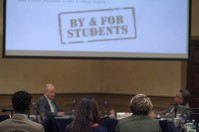The Council on Postsecondary Education met April 26 at WKU's Augenstein Alumni Center.