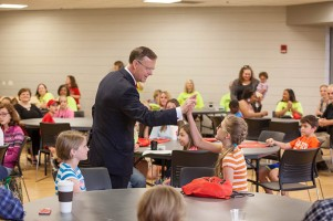 Take Our Daughters and Sons to Work Day was held on April 28.