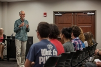 Representatives of Cloudbridge Nature Reserve visited WKU on May 9.