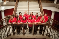 College of Education and Behavioral Sciences student ambassadors for 2016-17