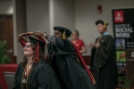 The Master of Social Work program hosted a graduation event on May 13.