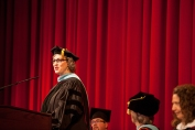 The Gatton Academy conducted its ninth graduation ceremony on May 14. (WKU photo by Clinton Lewis)