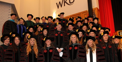 WKU's Doctor of Physical Therapy Class of 2016 participated in a hooding ceremony on May 13.