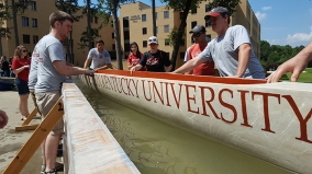 Scenes from the 2016 Concrete Canoe National Competition.