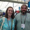 Participants in the 2016 international GIS conference included Becky Brown and Andy Reeder.
