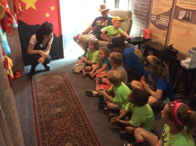 """The Confucius Institute at WKU's mobile unit has visited more than 200 sites in Kentucky since 2013. This week, the """"Chinese Cultural Experience"""" visited Owensboro and Gilbertsville."""